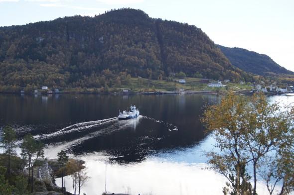 Utsikt mot Masfjordnes S-3