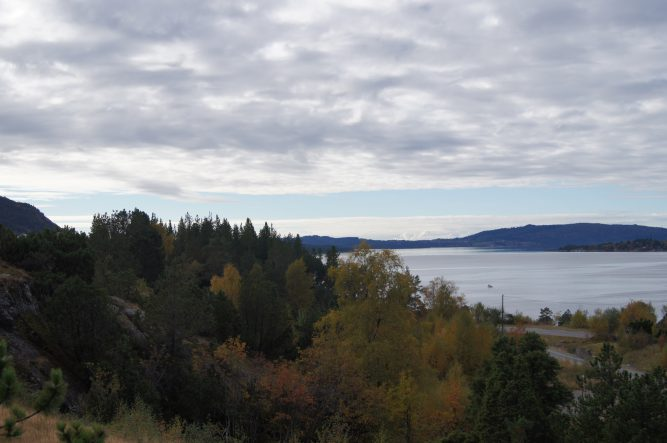 Tomt 07. Bildet er tatt mot sørvest.